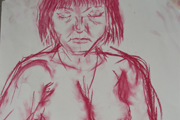 Sixth Formers try their hand at life drawing