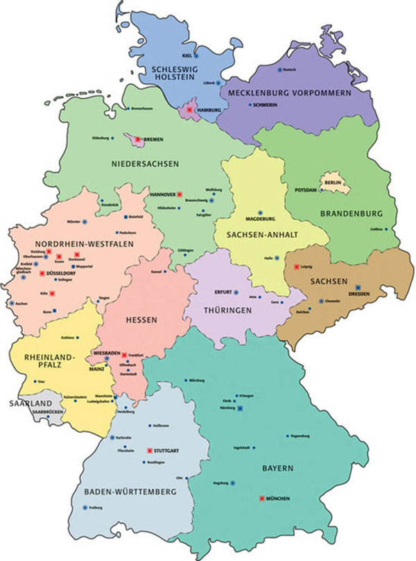 Road Map Of Germany 2017.Greetings From Germany Highcliffe School