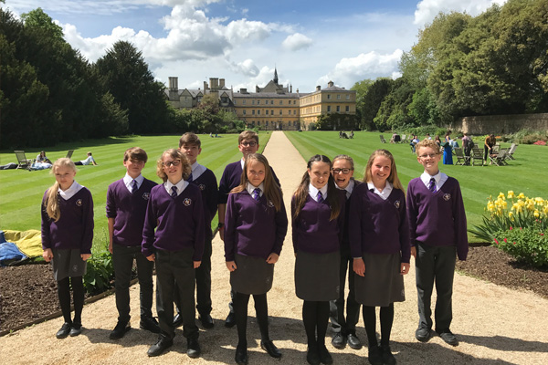 Year 7s trip to Oxford University