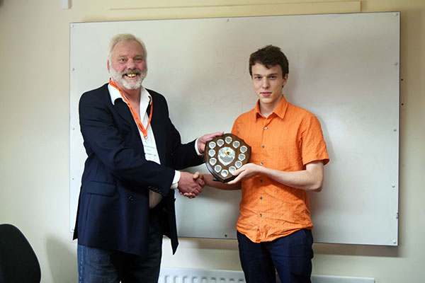 Chess Champion for Highcliffe Sixth