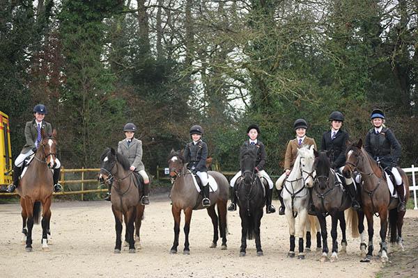 Equestrian Team Jump For Joy Highcliffe School