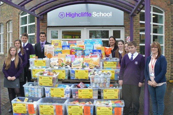 Year 9 Students help Christchurch Food Bank