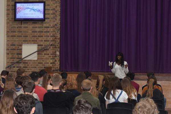 Lorraine Pascale Visits Highcliffe School