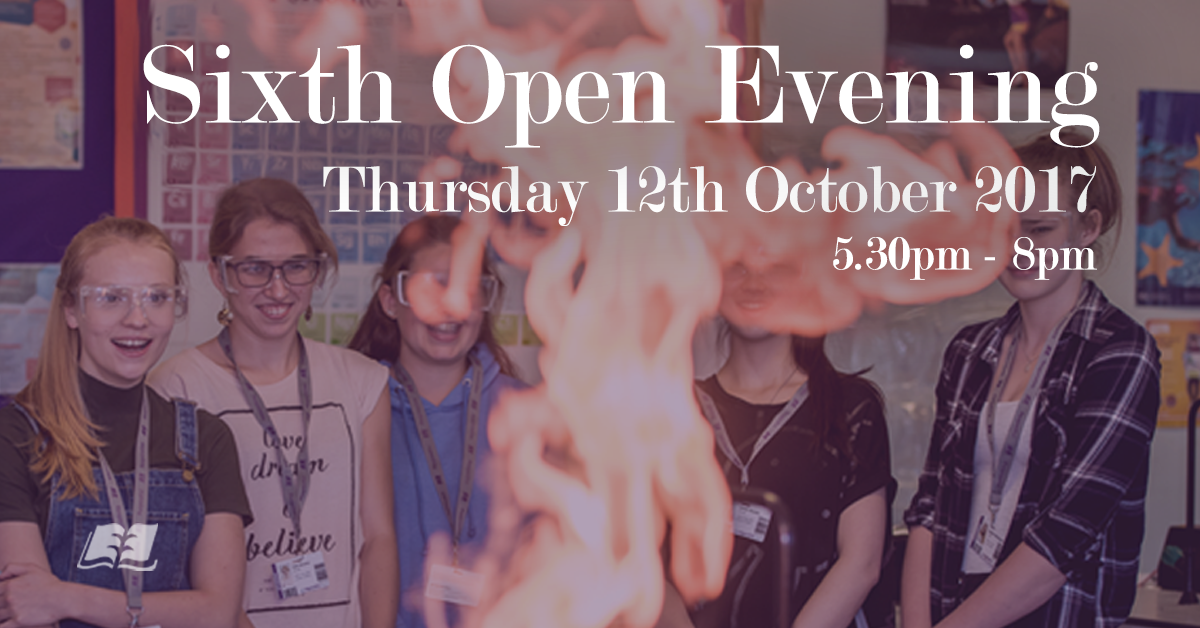 Sixth Form Open Evening 2017